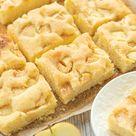 Versunkener Apfelkuchen vom Blech