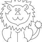 Kids-n-Fun   Kleurplaat Leeuwen Leeuw