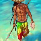 Rastafarian Fisherman by Sisus1 on DeviantArt