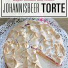 Rote Johannisbeeren & Baiser passen perfekt zusammen - tolles, einfaches Kuchenrezept!