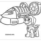desenhos para colorir patrulha canina 181