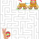 Easter Maze Puzzle