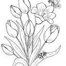 【+ de 150】Dibujos de Flores para Imprimir y Colorear GRATIS !!!