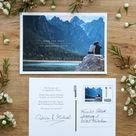 Easy DIY Save the Date Karten mit der Briefmarke individuell der Deutschen Post - evetichwill.de