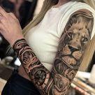 24 Popular Sleeve Tattoos for Women