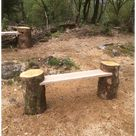 rustic garden seating