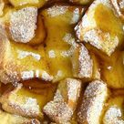 Cinnamon Sugar French Toast - Food Dolls