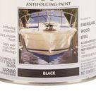 Rust Oleum Marine Coatings Boat Bottom Antifouling Paint Black Flat Enamel Oil Based Marine Paint 1 Quart   207012