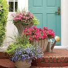 Große Blumenkübel bepflanzen - 60 Ideen, Bilder und Vorschläge