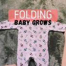 FOLDING BABY GROWS!!