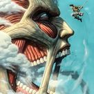 Attack on Titan Face Poster