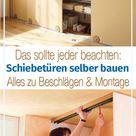 Schiebetüren selber bauen | selbst.de