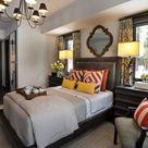 Yellow Master Bedroom
