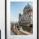 Berlin Germany Image Download Wall Art, Berlin Cathedral Photo Poster