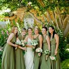 Long/ Short Moss Olive Green Bridesmaid Dress Infinity Dress Convertible Bridesmaid Dress Multi-Way
