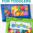 8 Simple Busy Bags for Toddlers
