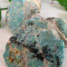 Amazon Stone, Amazonite, XL, Heart Chakra Stone, Throat Chakra Stone, Raw Amazonite Large, Healing Stone, Reiki, Twin Flame Stones