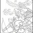 Free Printable Coloring Sheets Avengers: Endgame 10