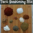 Taco Seasoning Mixes