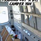 Framing Out a DIY Camper Van