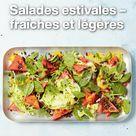 Des idées de salades du monde entier, pour les chaudes journées d'été. 🌞