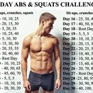 Ab And Squat Challenge