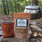 Reishi Mushroom, Ashwagandha, Licorice Loose Leaf tea Blend.