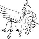 Disegni Da Colorare Da Stampare Fantastico Pagine Da Colorare Con Unicorni 100 Immagini In Bi...