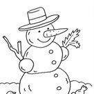 Kostenlose Ausmalbilder und Malvorlagen Schneemänner zum Ausmalen und Ausdrucken