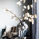 Wohnzimmer dekoration | deko ideen | Trockenblumen Vase