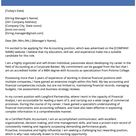 Accounting Cover Letter Sample | Resume Genius