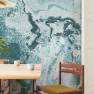 High Seas Mural • Repositionable and Traditional * Vinyl-Free •  Non-toxic