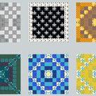 Having fun making patterns in creative.