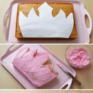 Royal Princess Crown Cake