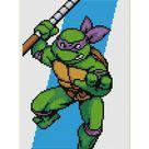 Teenage Mutant Ninja Turtles IV Turtle in Time   Cross Stitch   Etsy