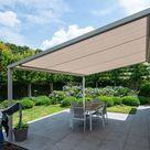 ☀ Pergola - Lamellendach nach Mass | UNIT - Baudienste GmbH