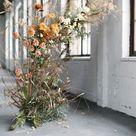 Contemporary Coral Wedding Inspiration at Black Hall Fiskars Village