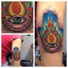 Hamsa Hand Tattoo