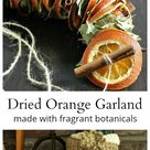 How to Make a Dried Orange Garland for the Holidays