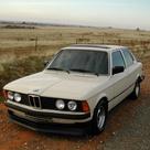 1982 BMW 3 series E30. my car