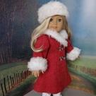 Red Winter Coat