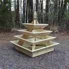 Downloadable Woodworking Plans   Pyramid Planter   Illustrated with Photos
