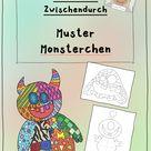 Kunst für Zwischendurch - Muster Monsterchen