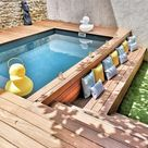 20+ Epic Above Ground Pool With Deck Ideas