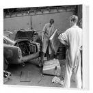 1959 24 Hours of Le Mans. Box Canvas Print. CIRCUIT DE LA SARTHE, FRANCE   JUNE 21 The Hubert Patthey / Renaud Calderari, Ecurie Trois Chevrons,.