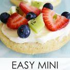 Easy Mini Fruit Pizzas