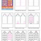 How to Draw Dutch Houses · Art Projects for Kids