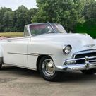 1951 Chevrolet Style line Deluxe Convertible.