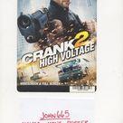 CRANK 2 - HIGH VOLTAGE - MOVIE MINI POSTER / PLA-CARD - 5 1/2