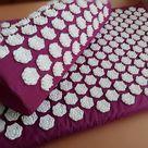 Acupressure Mat with Pillow Massage Mat (lite) - Purple